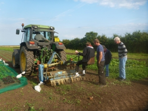 getting to grips with the brush weeder
